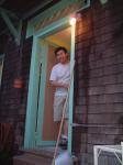 Phil at the door