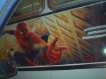 spidey on a bus