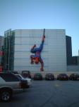 giant inflatable spidey